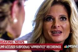 Trump accuser: Reveal 'The Apprentice' show recordings