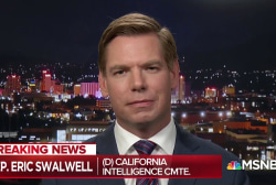 Swalwell on NYT report that Trump knew about Stormy hush money