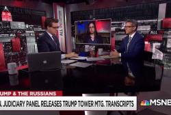 Senate Judiciary transcripts shed new light on Trump Tower meeting