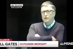 Bill Gates dishes about Trump meetings in exclusive video