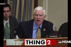 Rep. Mo Brooks: Falling rocks causing sea level rise
