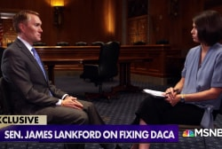 Sen. Lankford reveals bipartisan DACA talks