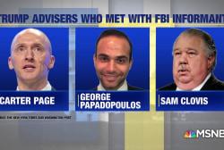 Malcolm Nance: FBI informant shows 'underlying basis of criminality'
