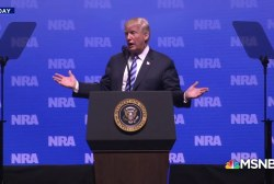 'People are onto the distractions and lies from the NRA'