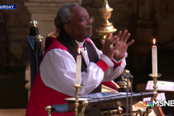 Bishop Michael Curry's sermon of love perfect for Trump era