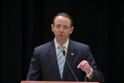Rosenstein makes a stand against Trump's interlopers in Congress