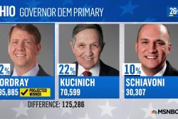 Key party primaries set up midterm showdowns