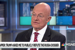 Clapper: Dossier was not used for Intelligence assessment of 2016