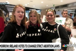 Irish abroad return home for vote loosening abortion ban