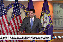 Paul Ryan skirts law by leaving room before Adelson payout