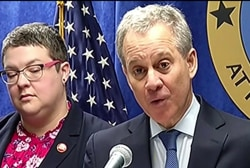 The hypocrisy of attacking Schneiderman and not Trump