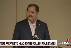 Blankenship dominates coverage ahead of primary