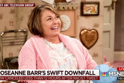 Did Roseanne outlive her usefulness to Trump?