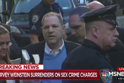 Harvey Weinstein surrenders on sex crime charges