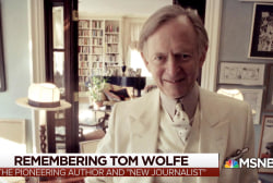 The life and legacy of Tom Wolfe