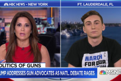 Parkland student: Trump's stance to arm teachers is 'crazy'