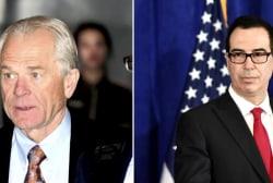 CNBC's Tauche: 'Mnuchin and Navarro are still not in step'