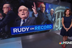 Trump's lawyer, Giuliani, on the record in weekend media blitz