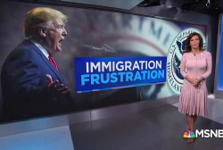 Fallout from President Trump's immigration frustration