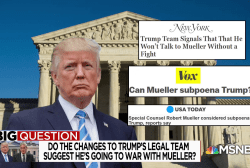 Big Question: Does Trump's legal shakeup mean he's going to war with Mueller?