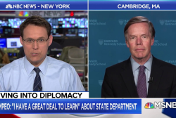 Fmr. Amb: Opportunity for rebirth of State Dept. under Pompeo