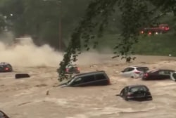 Flash Flood Evacuee: Only thing going through my head was my unborn baby