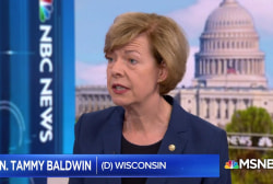 Sen. Baldwin: 'The way we're going to change this is when we tell our stories'