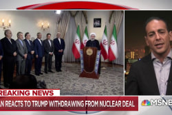 Iran: U.S. withdrawal from nuclear deal is 'psychological warfare'