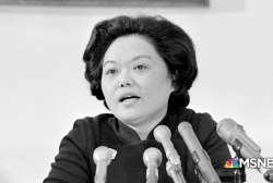 Rep. Patsy Mink is a Monumental American
