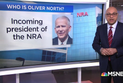 Who is Oliver North, the new NRA President?