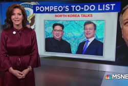 Secretary of State Mike Pompeo's to-do list