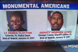 Honoring two fallen peace officers: Monumental Americans