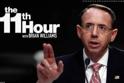 Dep. AG Rosenstein: The Justice Department will not be extorted