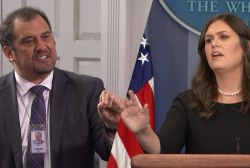 Reporter to Sanders: 'Don't you have any empathy' for immigrant families?