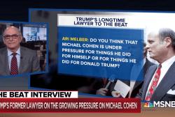 Shocker: Trump lawyer hints at Michael Cohen mob ties
