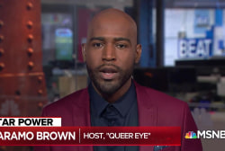 Queer Eye's Karamo Brown on 'building bridges' in the Trump era