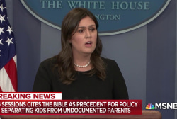 Trump separating migrant kids from parents sparks national outrage