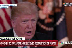 Melber: People who obstruct justice usually have something to hide