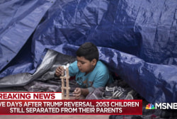 Rev. Sharpton: Why Trump won't separate kids at Canadian border