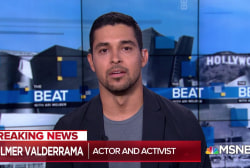 Wilmer Valderrama: Immigration is 'human' not 'political'