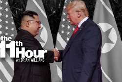 Trump on meeting Kim Jong Un in Singapore: 'It's my honor'