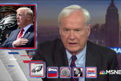 Matthews: Trump uses football to sow division