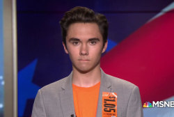 David Hogg wants students to vote in the midterms