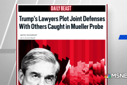 Daily Beast: Trump Lawyers plot joint defenses with others caught in Mueller Probe