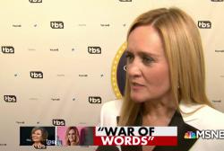 Samantha Bee, Ivanka Trump and vulgarities