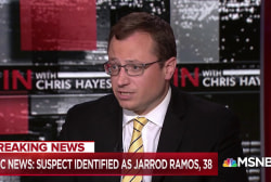 NBC News: Suspect Jarrod Ramos had history with newspaper