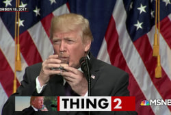 Donald Trump and water just don't mix