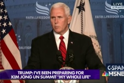 "Pence reportedly ""afraid"" of Trump, weekly lunches ""chaperoned"""