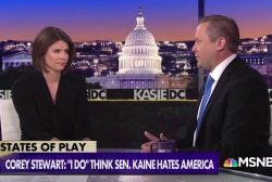 """Corey Stewart: Immigration policy """"absolutely"""" more important than migrant children"""