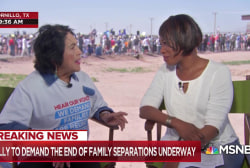 Dolores Huerta on immigration: This surpasses anything we've seen before